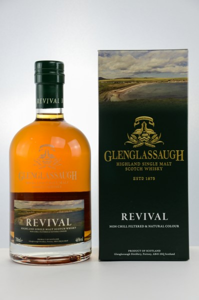 Glenglassaugh Revival - Single Malt Scotch Whisky - 46% vol - 0,7 L