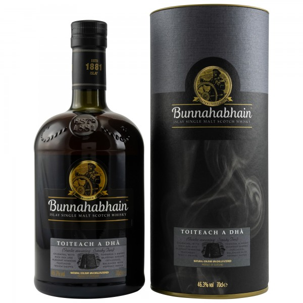 Bunnahabhain Toiteach A Dha - Islay Single Malt Scotch Whisky - 46,3% vol - 0,7 L