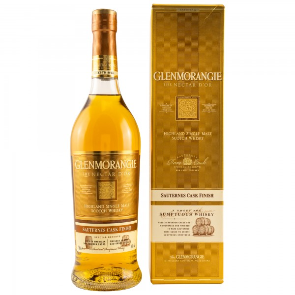 Glenmorangie Nectar d`Or Sauternes Cask Finish Single Malt Scotch Whisky 46% 0,7L