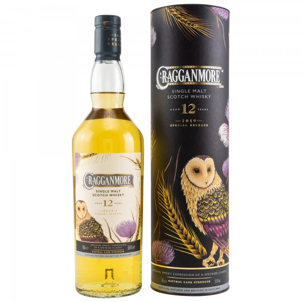 Cragganmore 12 Jahre Special Release 2019 Single Malt Scotch Whisky 58,4% 0,7L