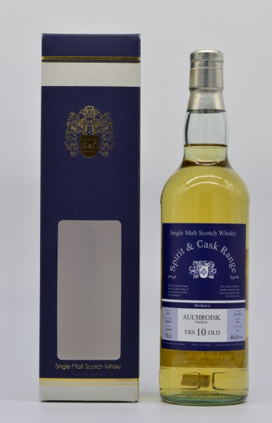 Auchroisk 2002/2012 Spirit & Cask Range Single Malt Whisky 46% 0,7L