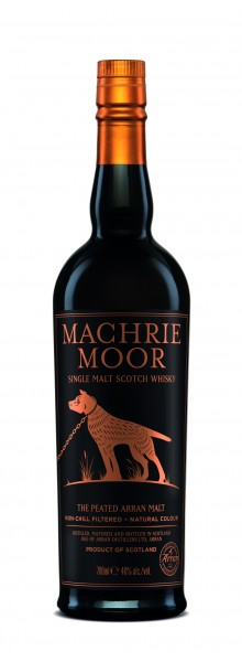 Arran Machrie Moor Peated 2015 - Single Malt Scotch Whisky - 46% vol - 0,7L