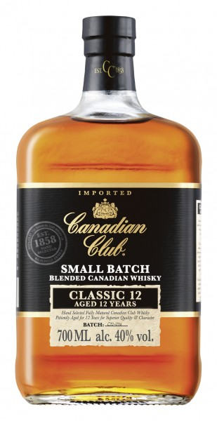 Canadian Club 12 Jahre Blended Canadian Whisky 40% vol 0,7 L