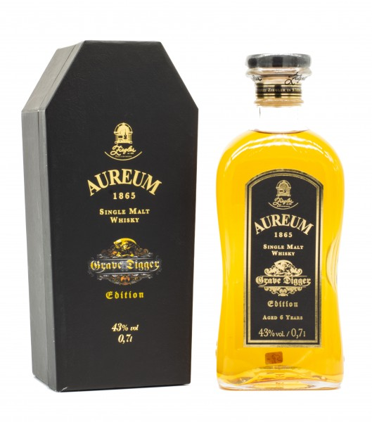 Aureum 6 Jahre Grave Digger Single Malt Whisky 43% vol 0,7L