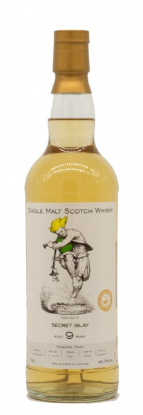 Secret Islay 9 Jahre Single Malt Malt Scotch Whisky 46% 0,7L